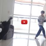 Il gatto portiere più forte del mondo [VIDEO]