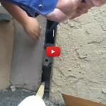 Incastrato tra due pareti: gatto salvato e pronto per essere adottato [VIDEO]