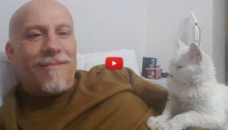 Medico rianima gatto e poi lo adotta