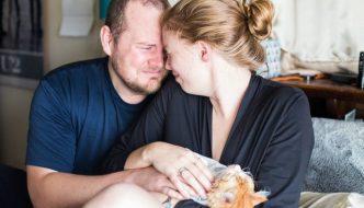 Coppia annuncia la nascita di un bambino ma arriva un gatto!