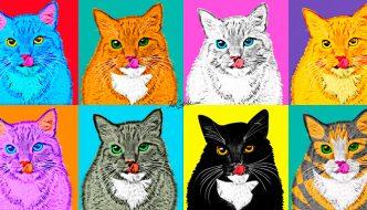 Fat Cat Art, ecco un gattone nella storia dell'arte