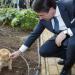 Il presidente del consiglio e il gatto, il curioso incontro a Lecce