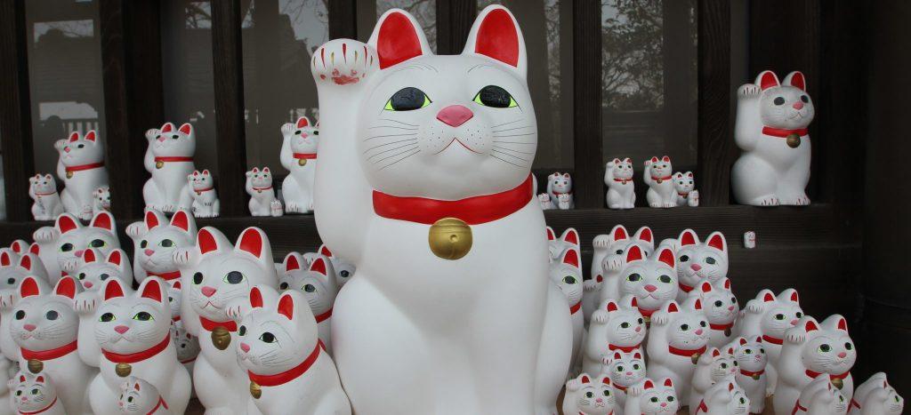 statuette Maneki Neko